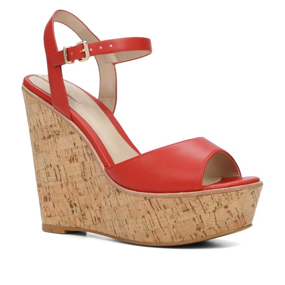 5688c7a3168 Aldo red wedge sandal